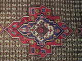 Stunning 6x11 Authentic Hand Knotted Semi-Antique Persian Koliai Runner - Iran