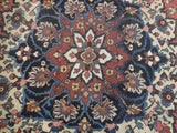 11x16 Authentic Hand Knotted Persian Heriz Rug - Iran