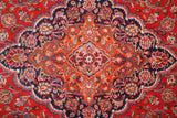 10x16 Authentic Hand Knotted Traditional Persian Isfahan Rug - Iran