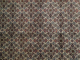4x6 Authentic Hand Knotted High End Persian Bijar Rug - Iran