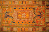 Harooni Rugs - Dazzling 3x5 Authentic Hand-Knotted Kazak Rug - India