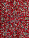 10x10 Authentic Hand Knotted Persian Tabriz Rug - Iran