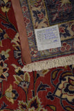 11x17 Authentic Hand Knotted Persian Isfahan Najafabad Rug - Iran