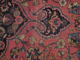 Harooni Rugs - Vintage 10x12 Authentic Hand Knotted Semi-Antique Persian Mashad Rug - Iran