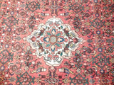Harooni Rugs - Pristine 5x10 Authentic Hand Knotted Semi-Antique Persian Hamadan Runner - Iran