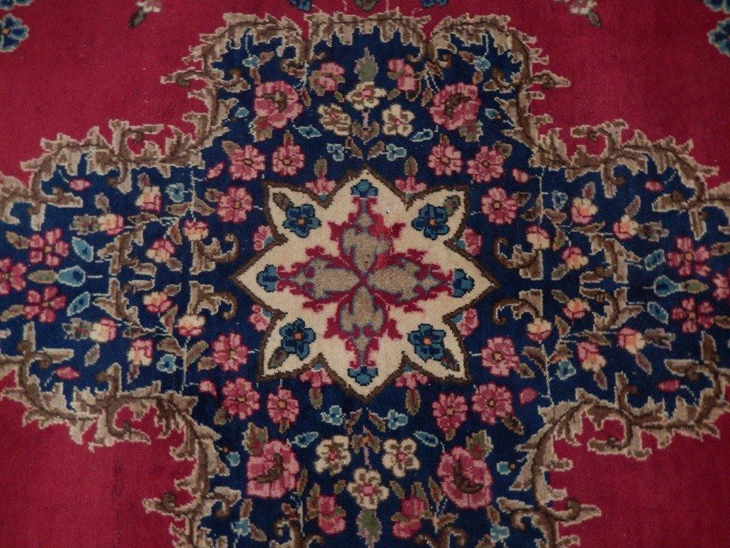 11x16 Pre Owned Persian Kerman Rug Perfect - Iran 73075 - bestrugplace