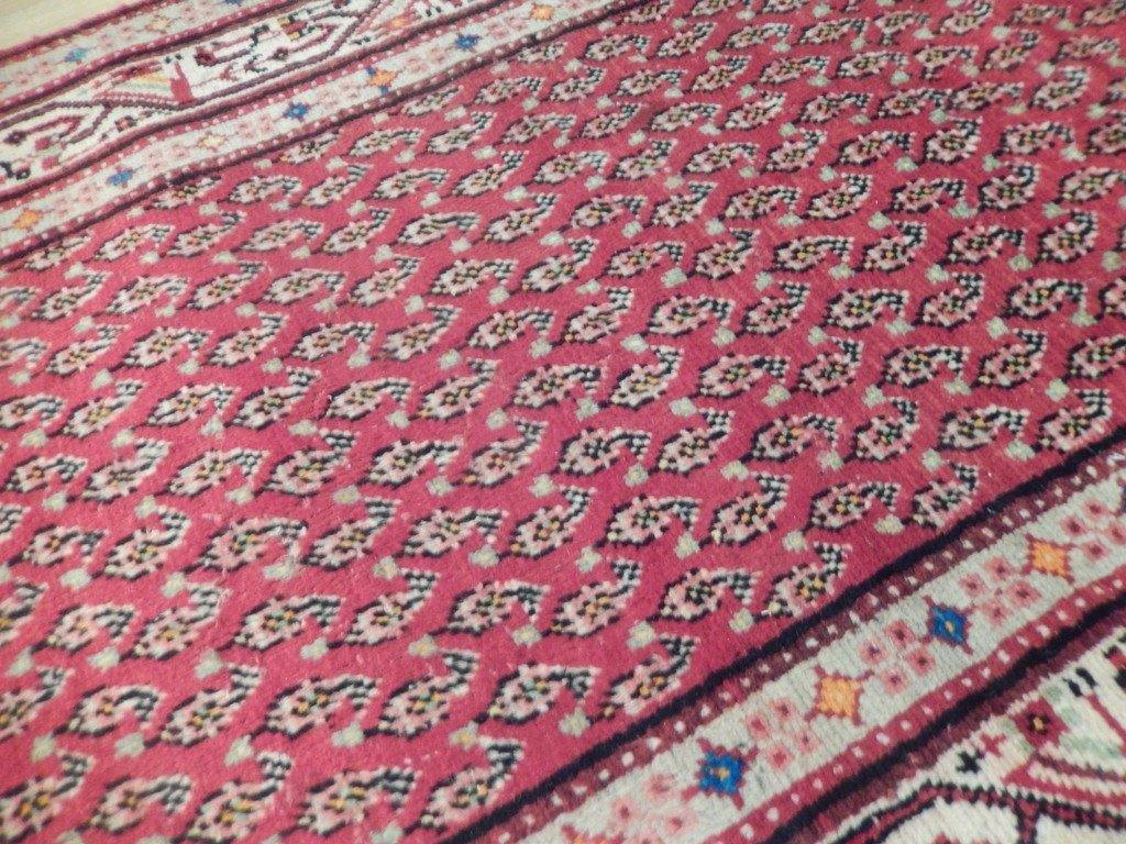 4x14 Authentic Handmade Semi-Antique Persian Mir Runner - Iran