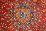 Harooni Rugs - Vintage 10x13 Authentic Hand Knotted Fine Quality Persian Mashad Rug - Iran