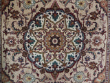 3x5 Authentic Handmade High End Persian Tabriz Rug - Iran