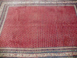 Harooni Rugs - Vintage 6x10 Authentic Hand Knotted Persian Mir Sarouk Rug - Iran