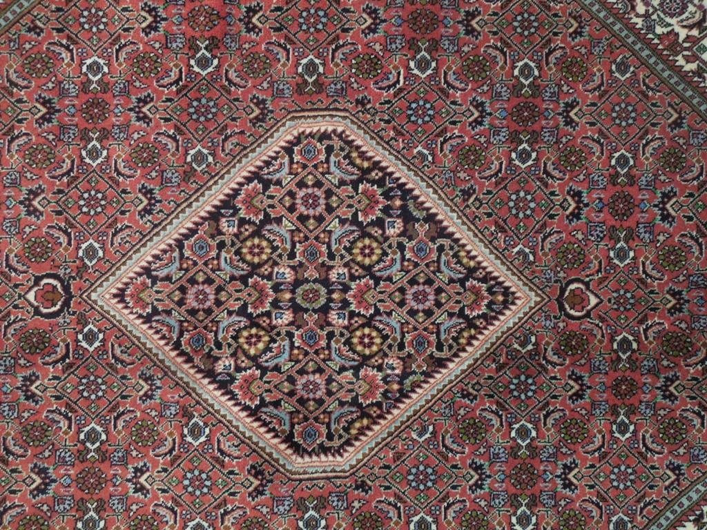 7x8 Authentic Hand Knotted High End Persian Bijar Rug - Iran