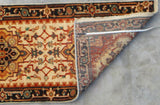 Harooni Rugs - Dazzling 3x20 Authentic Handmade Serapi Rug - India