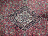 9x13 Authentic Hand Knotted Classic Persian Kashan Rug - Iran