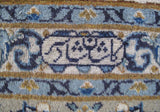 11x18 Authentic Hand-knotted Persian Signed Kashan Rug - Iran