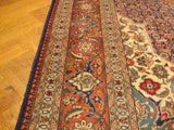 10x13 Authentic Handmade Persian Tabriz 1950S Rug-IRAN