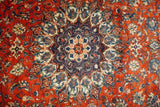 10x13 Authentic Hand Knotted Sheikh-Safi Persian Sarouk Rug - Iran