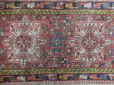 2x8 Authentic Hand Knotted Semi-Antique Persian Karaja Runner - Iran