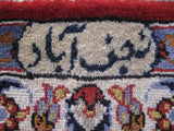 10x16 Authentic Hand-knotted Persian Signed Isfahan Rug - Iran