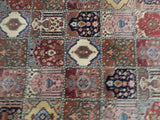 Harooni Rugs - Pristine 7x7 Authentic Hand Knotted Semi-Antique Persian Bakhtiari Rug - Iran