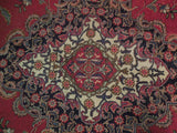 10x12 Authentic Hand Knotted Semi-Antique Persian Sarouk Rug - Iran