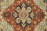 Harooni Rugs - Exotic 12x15 Authentic Hand Knotted Serapi Rug - India