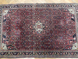 4x7 Authentic Hand Knotted Persian Bijar Rug - Iran
