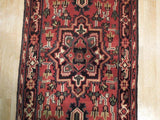 Harooni Rugs - Dazzling 3x20 Authentic Handmade Heriz Runner - India