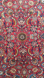 Harooni Rugs - Vintage 10x13 Authentic Hand Knotted Persian Mashad Rug - Iran