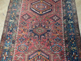3x11 Authentic Handmade Persian Karaja Rug - Iran