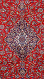 10x13 Authentic Hand Knotted Persian Kashan Rug - Iran