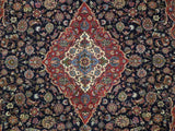 10x13 Authentic Handmade Persian Kashan Rug - Iran