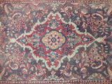4x11 Authentic Handmade Semi-Antique Persian Hamadan Runner - Iran