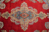 10x14 Authentic Hand Knotted Fine Quality Persian Kerman Rug - Iran