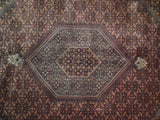 Dazzling 10x13 Authentic Hand-Knotted Pre-Owned Jaipur Tabriz Rug - India