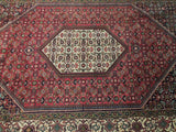 5x9 Authentic Hand Knotted High End Persian Bijar Rug - Iran