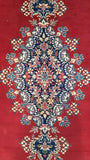 8x11 Authentic Hand Knotted Persian Kerman Rug - Iran