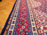 Harooni Rugs - Premium 10x15 Authentic Handmade Semi Antique Persian Rug-Iran