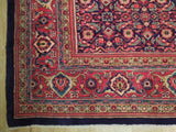 Harooni Rugs - Fascinating 10x13 Authentic Hand Knotted Persian Semi-Antique Herati Rug - Iran