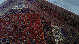 Harooni Rugs - Premium 8x12 Authentic Hand Knotted Persian Kashan Rug - Iran