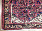 Harooni Rugs - Pristine 4x10 Authentic Handmade Semi-Antique Persian Hamadan Runner - Iran