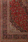 11x17 Authentic Hand-knotted Persian Signed Kashan Rug - Iran