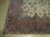 10x19 Authentic Hand Knotted Semi-Antique Persian Kerman Rug - Iran