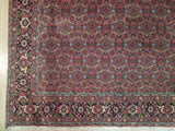7x10 Authentic Hand Knotted High End Persian Bijar Rug - Iran