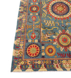 Stunning 8x12 Authentic Hand-knotted Kazak Rug - Pakistan