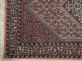 3x6 Authentic Hand-Knotted Fine Quality Persian Bijar Rug - Iran