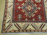 Harooni Rugs - Dazzling 6x7 Authentic Hand Knotted Kazak Rug - India