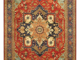 Harooni Rugs - Dazzling 13x21 Authentic Hand-Knotted Serapi Rug - India
