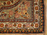 5x7 Authentic Hand-Knotted Semi-Antique Persian Kermanshah Rug - Iran
