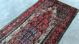 Harooni Rugs - Pristine 4x9 Authentic Hand Knotted Persian Hamadan Rug - Iran