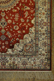 3x5 Authentic Hand Knotted Silk Rug - China